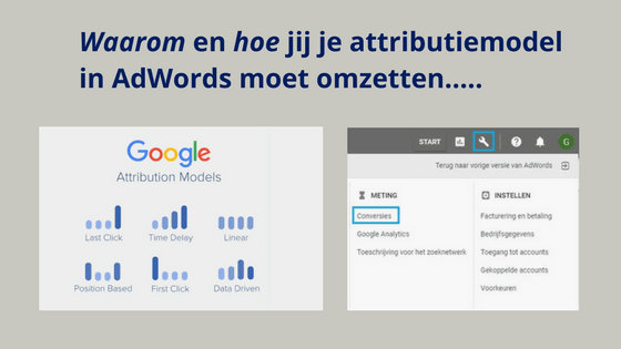 Attributiemodel AdWords