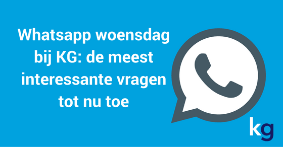 whatsapp woensdag header
