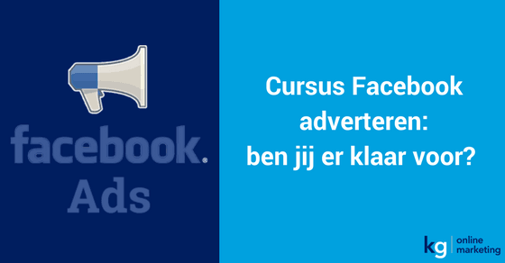 FB adverteren aankondiging