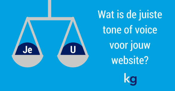 Wat is de juiste tone of voice vvor jouw website?