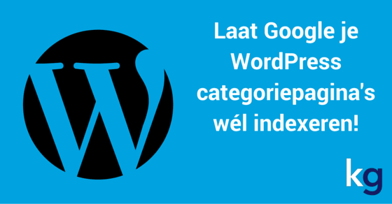 WordPress categoriepagina