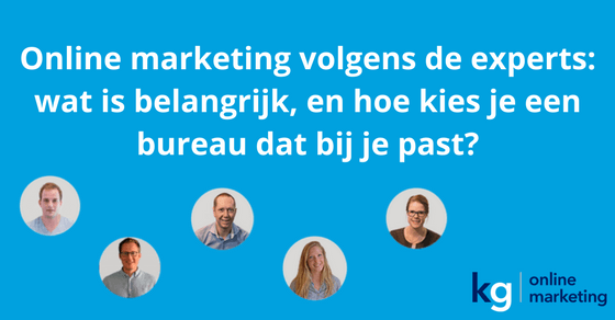 online marketing volgens experts